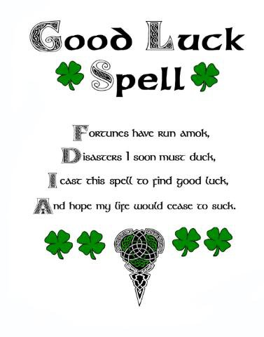Good Luck Spells designed for Gambling